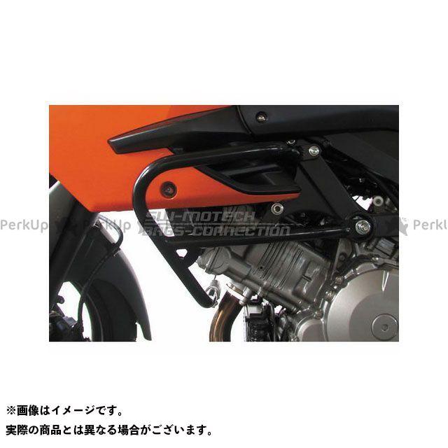 SW-MOTECH Vストローム1000 その他のモデル スライダー類 クラッシュバー ブラック SWモテック