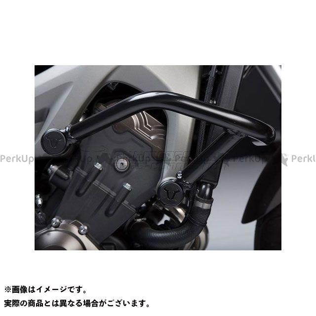 【エントリーで更にP5倍】SW-MOTECH MT-09 トレーサー900・MT-09トレーサー XSR900 スライダー類 クラッシュバー、ブラック SWモテック