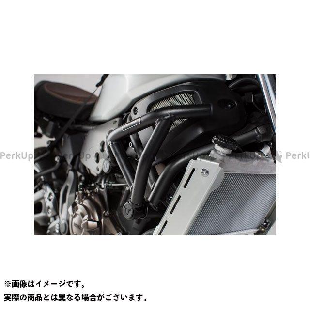 SW-MOTECH XSR700 スライダー類 クラッシュバー、ブラック、Yamaha XSR 700(16-) SWモテック