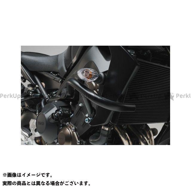 【エントリーで更にP5倍】SW-MOTECH MT-09 スライダー類 クラッシュバー ブラック Yamaha MT-09(17-) SWモテック