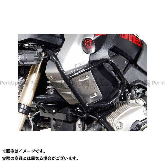 【エントリーで最大P21倍】SW-MOTECH R1200GS スライダー類 アッパークラッシュバー -ブラック- 取り付けにはSBL.07.562.10100/Bが必要です。 R 1200 GS(08 -) SWモテック