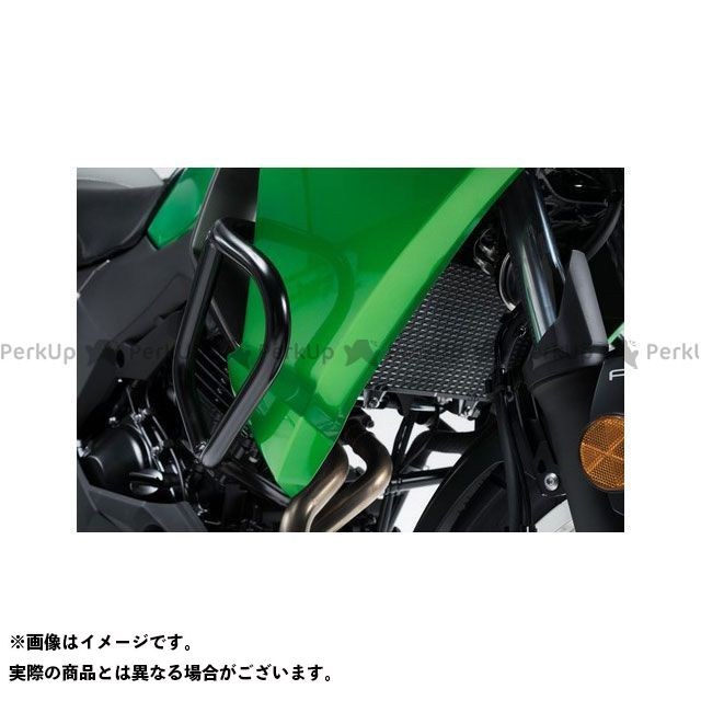 SW-MOTECH ヴェルシスX 300 スライダー類 クラッシュバー ブラック Kawasaki Versys-X300 ABS(16-)|SBL.08.875.10000/B SWモテック