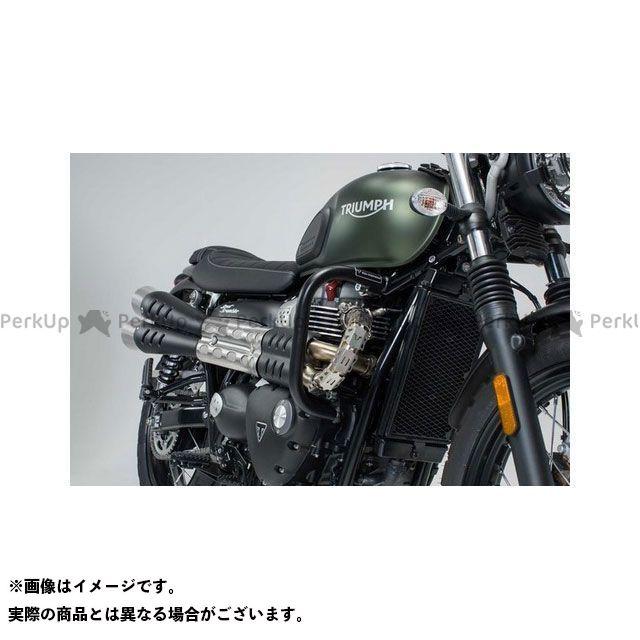 SW-MOTECH ボンネビルボバー ストリートスクランブラー スライダー類 クラッシュバー ブラック Street Scrambler/ ボンネビル Bobber(16-)|SBL.11.884.10000/B SWモテック