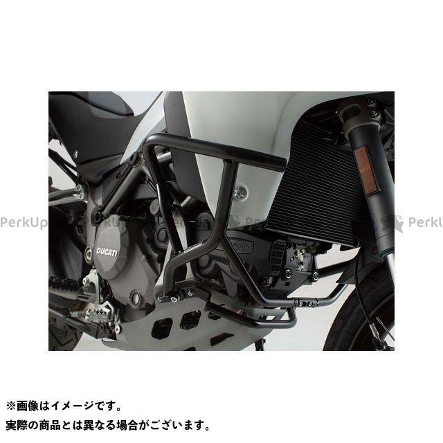 SW-MOTECH ムルティストラーダ1200エンデューロ ムルティストラーダ1260 スライダー類 クラッシュバー ブラック Ducati Multistrada 1200 Enduro(16-) SWモテック