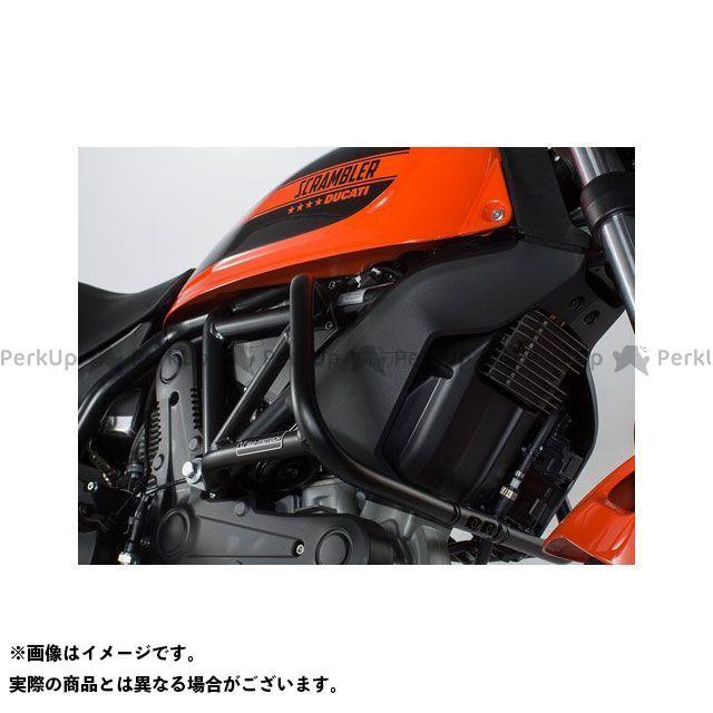 SW-MOTECH スライダー類 クラッシュバー、ブラック、Ducati Scrambler(14-)/Sixty2(16-) SWモテック