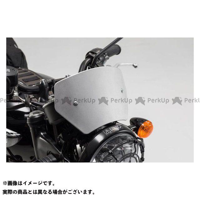 【エントリーで更にP5倍】SW-MOTECH ボンネビルT100 ボンネビルT120 スクリーン関連パーツ ウィンドスクリーン-シルバー-Triumph Bonneville T120(15-).|SCT.11.509.10000/S SWモテック