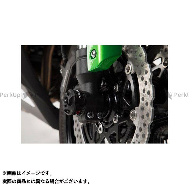 SW-MOTECH ニンジャ1000・Z1000SX スライダー類 フロントアクスル用スライダーセット ブラック Kawasaki Z 1000 SX(16-)|STP.08.176.11000/B SWモテック