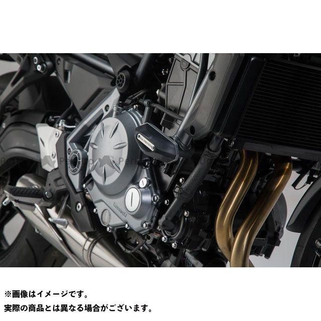 SW-MOTECH Z650 スライダー類 フレームスライダーセット - ブラック - Kawasaki Z650(16-).|STP.08.590.11300/B SWモテック