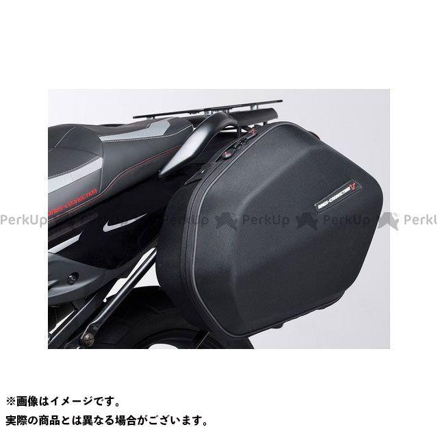 SW-MOTECH ツーリング用ボックス AERO ABS サイドケースセット ABS/600 HCF Polyester ブラック 2x 25 l In pairs SWモテック