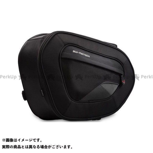 SW-MOTECH ツーリング用バッグ BLAZE saddlebags high version. 1680D スティックナイロン ブラック/グレー(ペア)|BC.HTA.00.740.110 SWモテック
