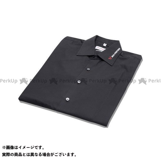 SW-MOTECH カジュアルウェア ビジネスシャツ Core Line. ブラック -レディース- サイズ L.|WER.BKL.016.L.10001 SWモテック