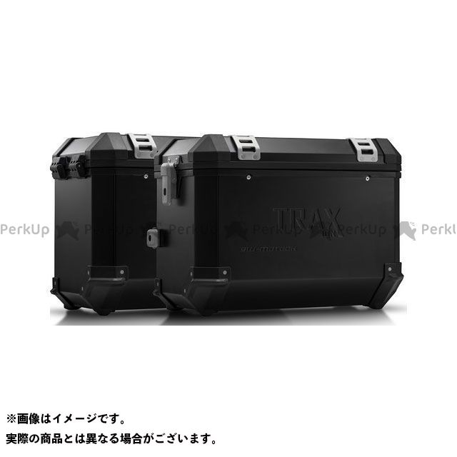 SW-MOTECH ムルティストラーダ950 ツーリング用ボックス TRAX(トラックス)ION アルミケースシステム ブラック 45/45 L. ムルティストラーダ Enduro/ 950(16-)|KFT.22.11 SWモテック