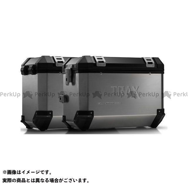SW-MOTECH ムルティストラーダ950 ツーリング用ボックス TRAX(トラックス)ION アルミケースシステム シルバー 45/45 L. ムルティストラーダ Enduro/ 950(16-) KFT.22.11 SWモテック