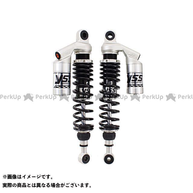 YSS RACING Z1000 Z750フォア Z900 リアサスペンション関連パーツ Sports Line G362 360mm(10mmロング) ボディカラー:シルバー スプリングカラー:ブラック YSS