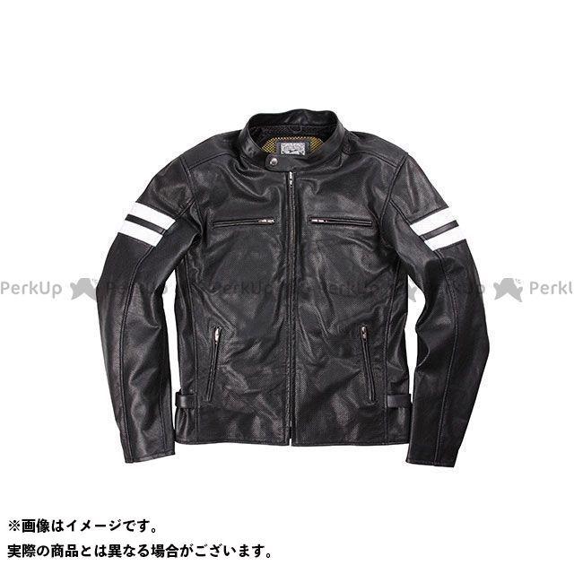 デグナー ジャケット 17SJ-3 メンズメッシュレザージャケット(ブラック) サイズ:2XL DEGNER