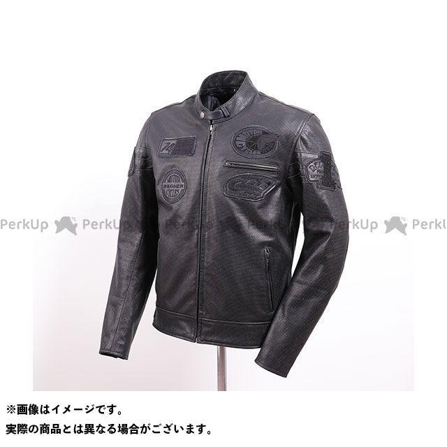 デグナー ジャケット 2020春夏モデル 16SJ-5A メッシュレザージャケット(ブラック) サイズ:XL DEGNER
