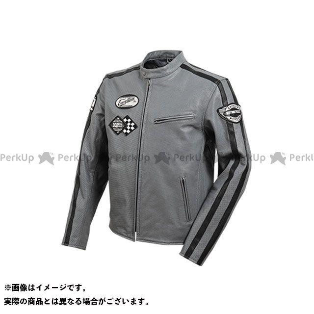 デグナー ジャケット 2020春夏モデル 20SJ-1 メッシュレザージャケット(グレー) サイズ:2XL DEGNER