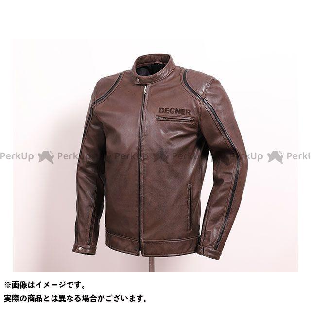 デグナー ジャケット 2020春夏モデル 20SJ-5 レザージャケット(ブラウン) サイズ:XL DEGNER