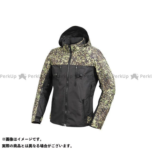 デグナー ジャケット 2020春夏モデル 20SJ-2 テキスタイルフード付ジャケット(ブラック/カモ) サイズ:S DEGNER