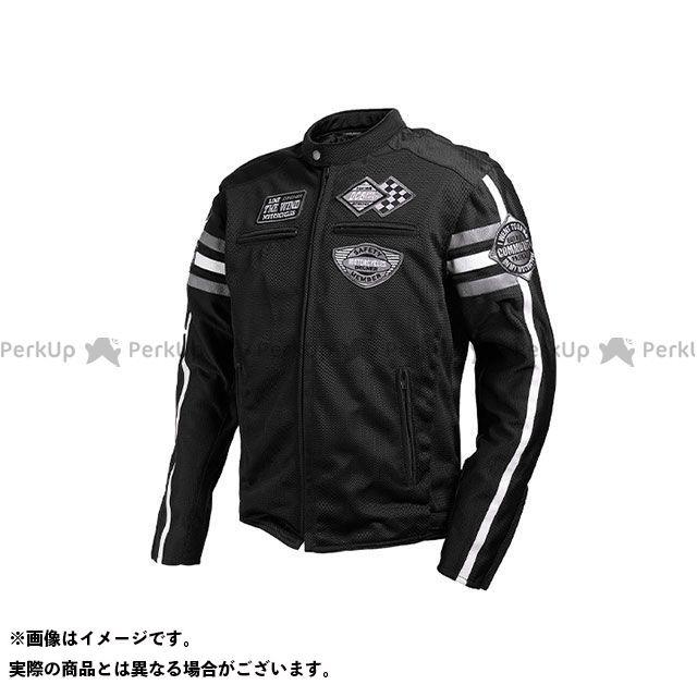 デグナー ジャケット 2020春夏モデル 20SJ-3 メッシュジャケット(ブラック) サイズ:XL DEGNER