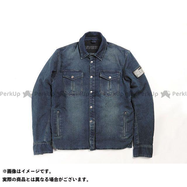 デグナー ジャケット 2020春夏モデル 20SJ-6 ニットデニムシャツジャケット(ネイビー) サイズ:L DEGNER