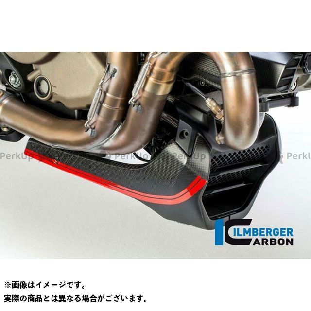 ILMBERGER モンスター1200 モンスター1200R モンスター1200S カウル・エアロ ベリーパン マット - Ducati Monster 1200/1200 S | VEU.116.D12MM.K イルムバーガー