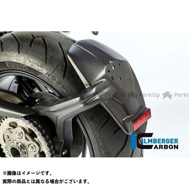 ILMBERGER モンスター1200 モンスター1200S その他外装関連パーツ リア スプラッシュガード マット - Ducati Monster 1200/1200 S | SPS.103.D12MM.K イルムバーガー