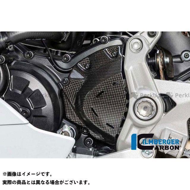 ILMBERGER スーパースポーツ スーパースポーツ S ドレスアップ・カバー フロントスプロケットカバー グロスカーボン - Ducati Supersport 939   RIO.020.DSS7G.K イルムバーガー