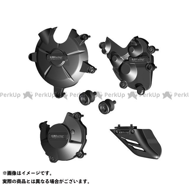 GBRacing ニンジャZX-6R エンジンカバー関連パーツ Motorcycle Protection Bundle | CP-ZX6-2007-CS-GBR GBレーシング
