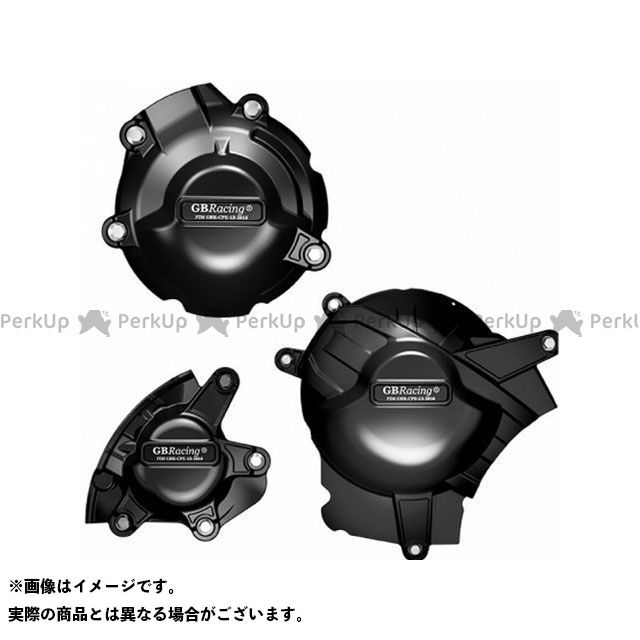 GBRacing GSX-R1000 エンジンカバー関連パーツ Engine Cover Set | EC-GSXR1000-L7-SET-GBR GBレーシング