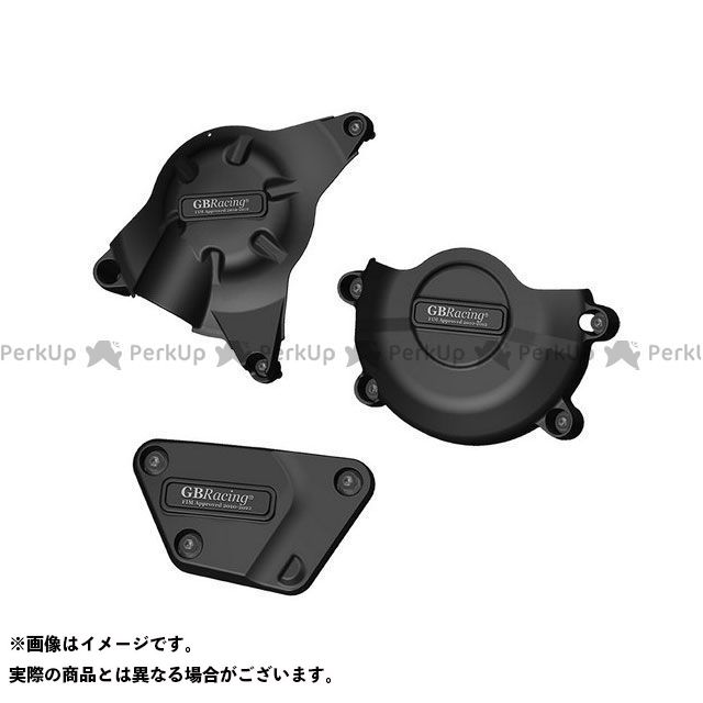 GBRacing YZF-R6 エンジンカバー関連パーツ STOCK Engine Cover Set | EC-R6-2008-SET-GBR GBレーシング