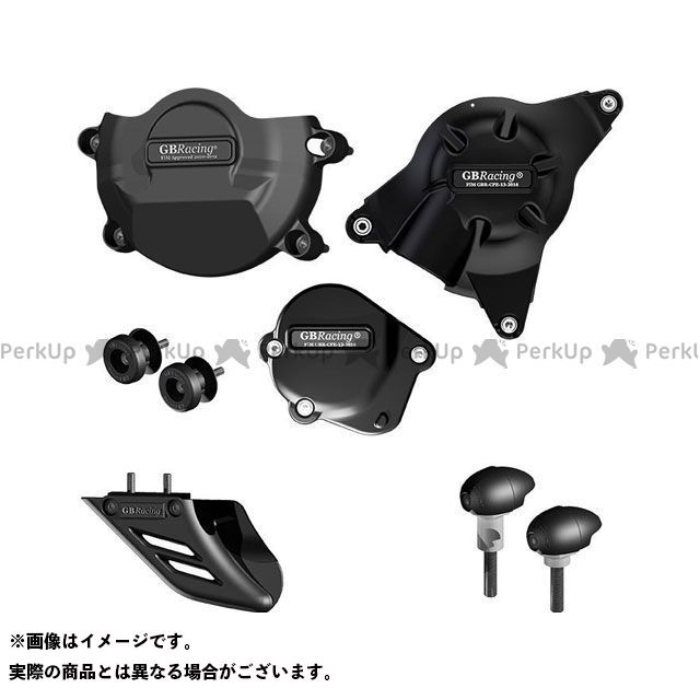 GBRacing YZF-R6 エンジンカバー関連パーツ RACE KIT Motorcycle Protection Bundle | CP-R6-2008-CS-K-GBR GBレーシング