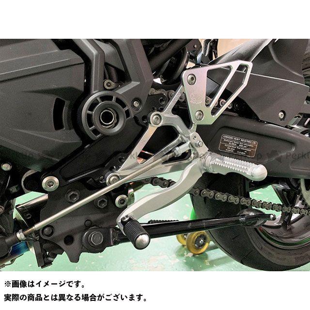 【無料雑誌付き】ビートジャパン ニンジャ650 バックステップ関連パーツ H/B (SV)固定 Ninja650 17- BEET
