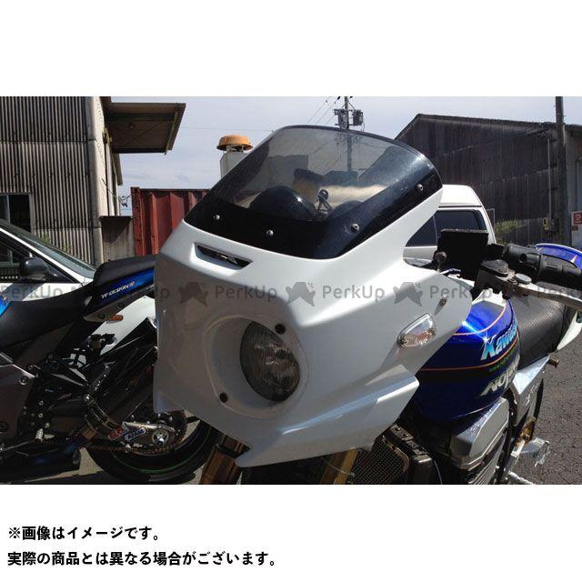 NOJIMA ZRX1100 ZRX1200 カウル・エアロ アッパーカウル シロゲル/オレンジレンズ ZRX1200/1100 ノジマ