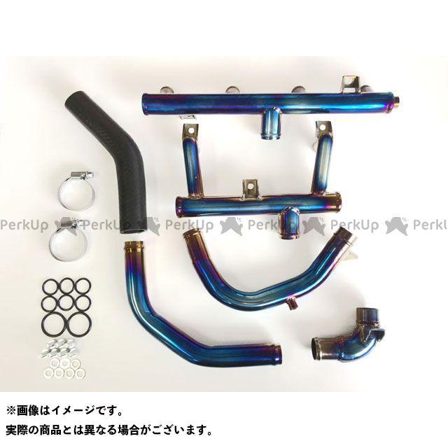 【エントリーで更にP5倍】NOJIMA ZRX1200R ZRX1200S エキゾーストパイプ チタンウオーターパイプセット 焼き色 ZRX1200R/S ALL ノジマ