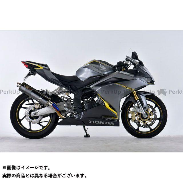 【エントリーで最大P21倍】NOJIMA CBR250RR マフラー本体 GTミドル スリップオン DLC-TI CBR250RR 17-19 ノジマ