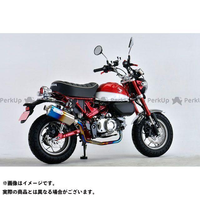 NOJIMA モンキー125 マフラー本体 M2チタンフルエキゾースト ブルーグラデーション モンキー125 18-19 ノジマ