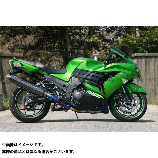 NOJIMA ニンジャZX-14R その他マフラーパーツ サイレンサーレスキット タイプR ヒートSP ZX-14R 12-15 ノジマ