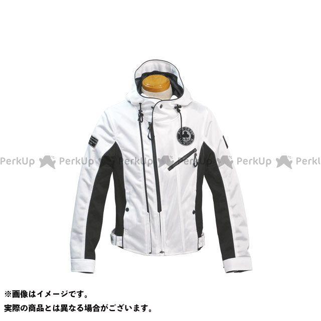 エースカフェ ジャケット 2020春夏モデル SS2001MJ メッシュW2 フーデッドジャケット(ホワイト) サイズ:L ACECAFE LONDON