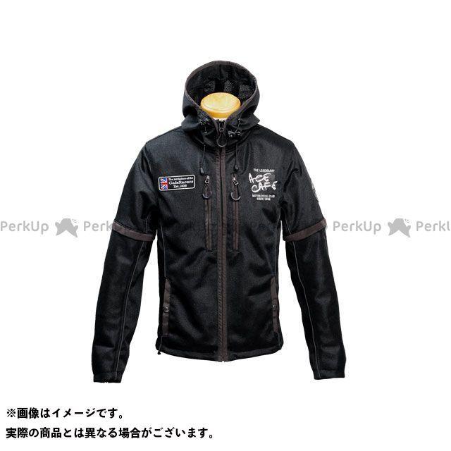 エースカフェ ジャケット 2020春夏モデル SS2003MJ ディタッチャブル メッシュブルゾン(ブラック) サイズ:M ACECAFE LONDON