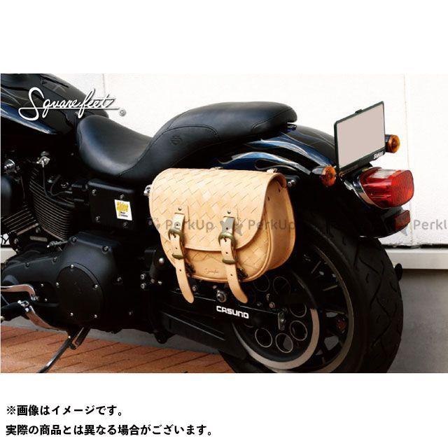 デグナー ツーリング用バッグ 【特価品】SFSB-2 バスケットサドルバッグ(タン) DEGNER