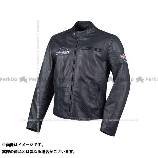 デグナー ジャケット 18SJ-7 レザーメッシュジャケット(ブラック) サイズ:M DEGNER