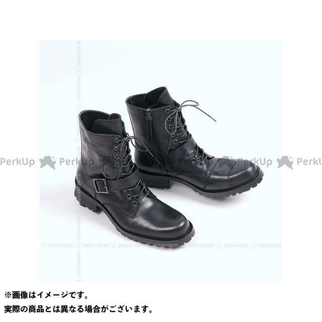 デグナー ライディングブーツ HS-B7 バイカーズブーツ(ブラック) サイズ:27.0cm DEGNER