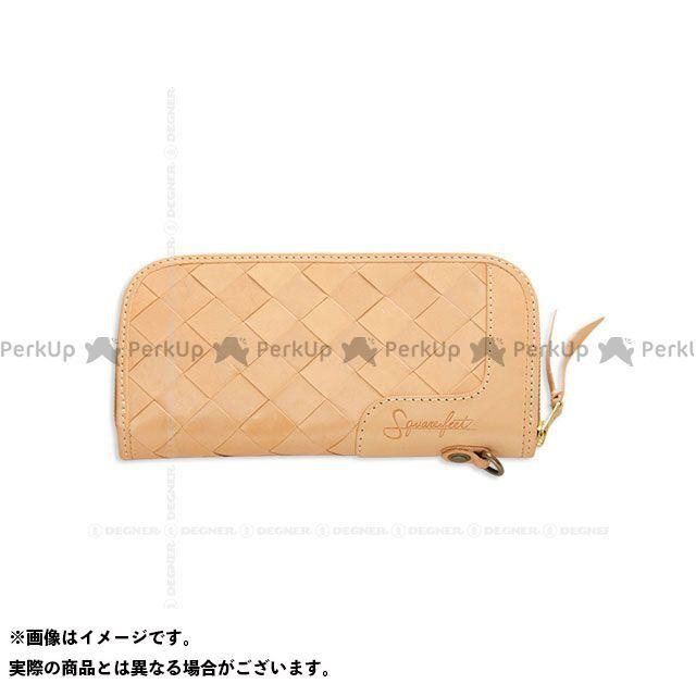 デグナー 財布 SFW-9 バスケットジップウォレット(タン) DEGNER