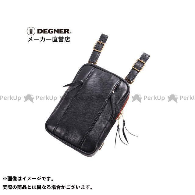 デグナー ツーリング用バッグ W-49A レザーホルスターバッグ(ブラック) DEGNER
