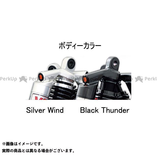 YSS RACING その他のV-Rod リアサスペンション関連パーツ Sports Line X-Series 362ボディー 330mm/13.0inc ボディカラー:シルバー スプリングカラー:ホワイト YSS