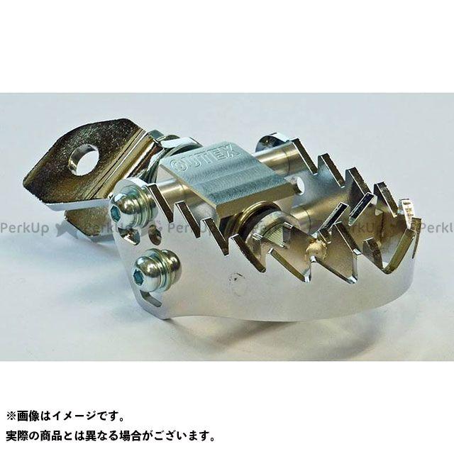 【無料雑誌付き】OUTEX その他ステップ関連パーツ F-STEPメッキブラケットセット アウテックス