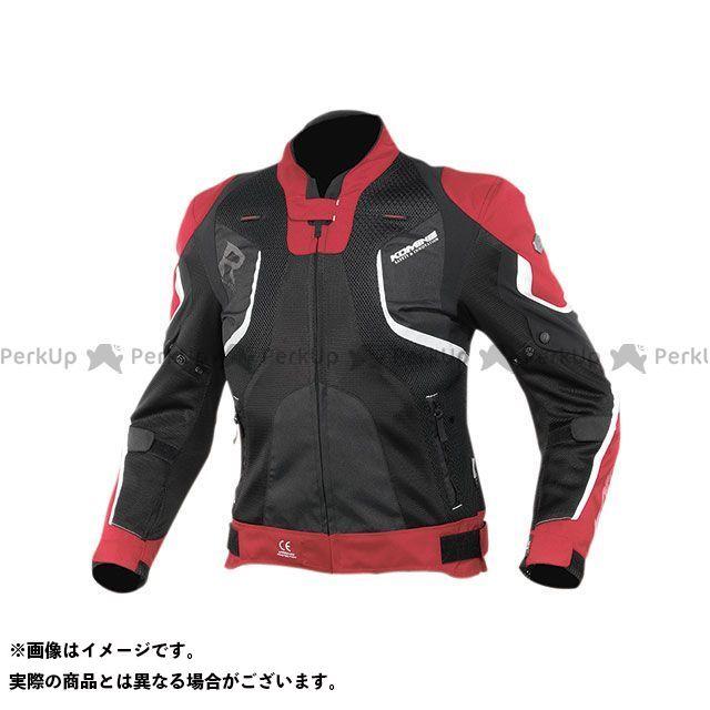KOMINE ジャケット 2020春夏モデル JK-143 Rスペックメッシュジャケット(レッド/ブラック) サイズ:XL コミネ