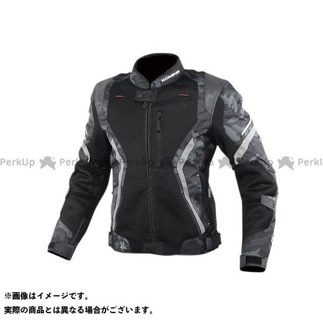 KOMINE ジャケット 2020春夏モデル JK-144 リフレクトメッシュジャケット(ブラックカモ) サイズ:XL コミネ