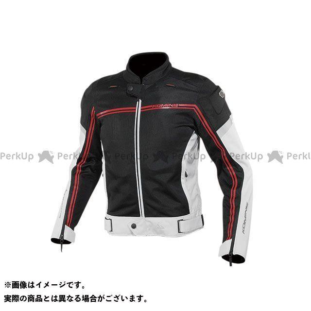 KOMINE ジャケット 2020春夏モデル JK-145 エアストリームメッシュジャケット(ライトグレー/ブラック) サイズ:L コミネ
